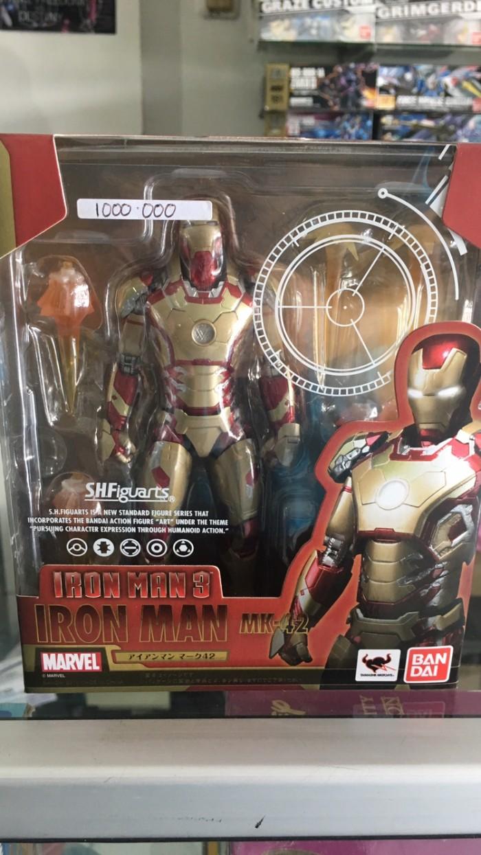 Jual Shf Iron Man Mk42 Kota Lubuk Linggau Dewiwulan