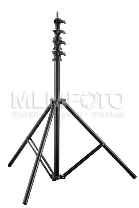 harga Light stand 2.2meter air suspension stand mz-2800fp tripod lampu Tokopedia.com