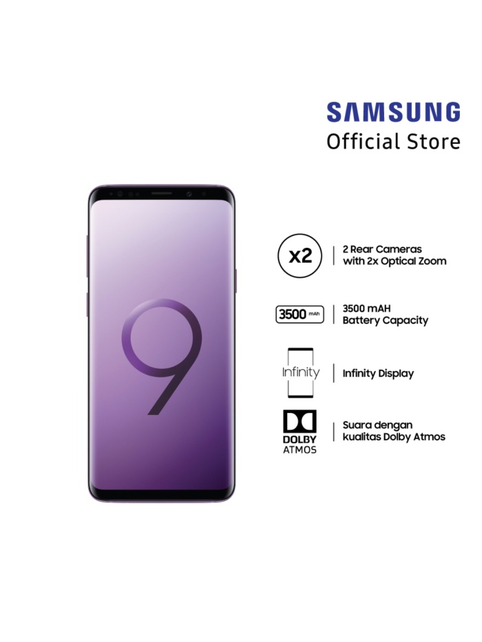 Foto Produk Samsung Galaxy S9+ Purple dari TM storesurabaya
