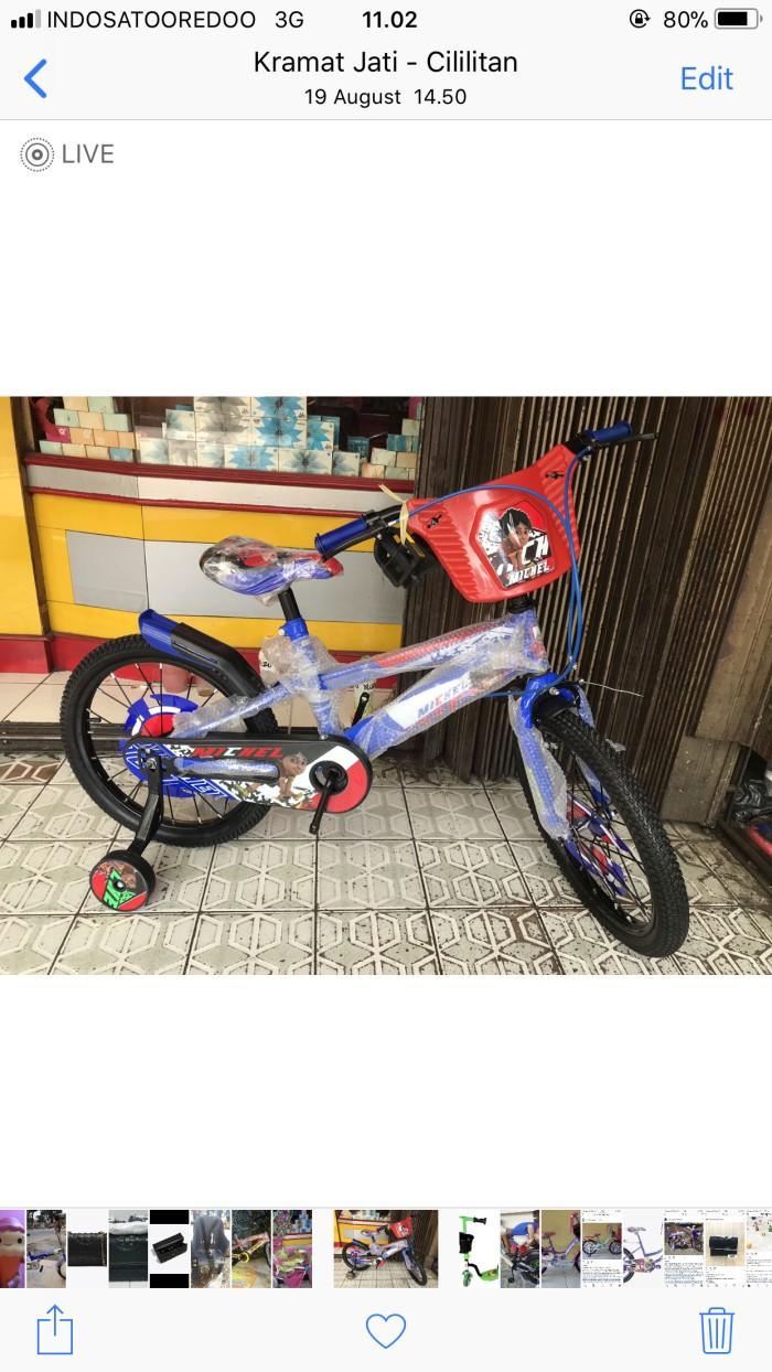 Jual Sepeda Anak BMX 16 Michel Shiva Hurricane Jakarta Timur Aneka Jaya Bikes