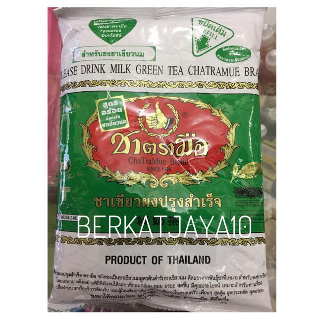 Green Tea Thai Tea Number One Chatramue Brand 200 gr