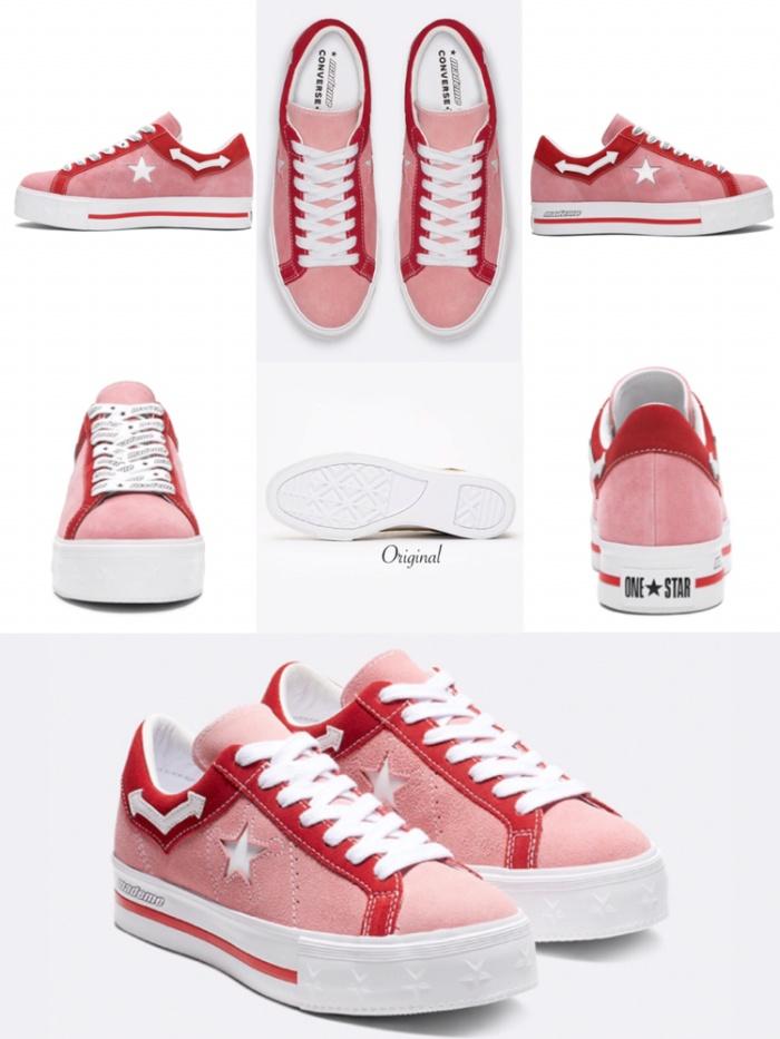 864d05977e3dc0 Jual Sepatu Converse Original - MadeMe X One Star Platform W Pink ...