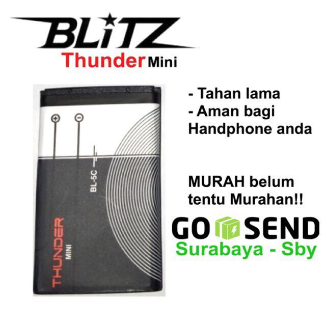 Foto Produk Baterai Nokia Thunder BL4C 6100 / BL5C 3650 dari Blitz Indonesia