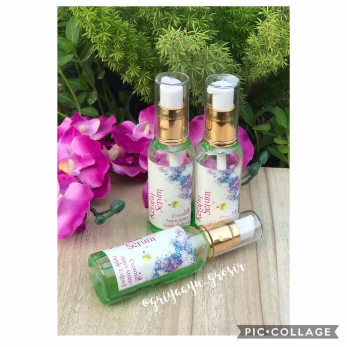 Sari Cosmetics Hair Serum Serum Rambut Recovering Bpom 100ml - Beli ... - Etude Silk Scarf Moist Hair Mist 120ML. Source · KERATIN SERUM 60ml