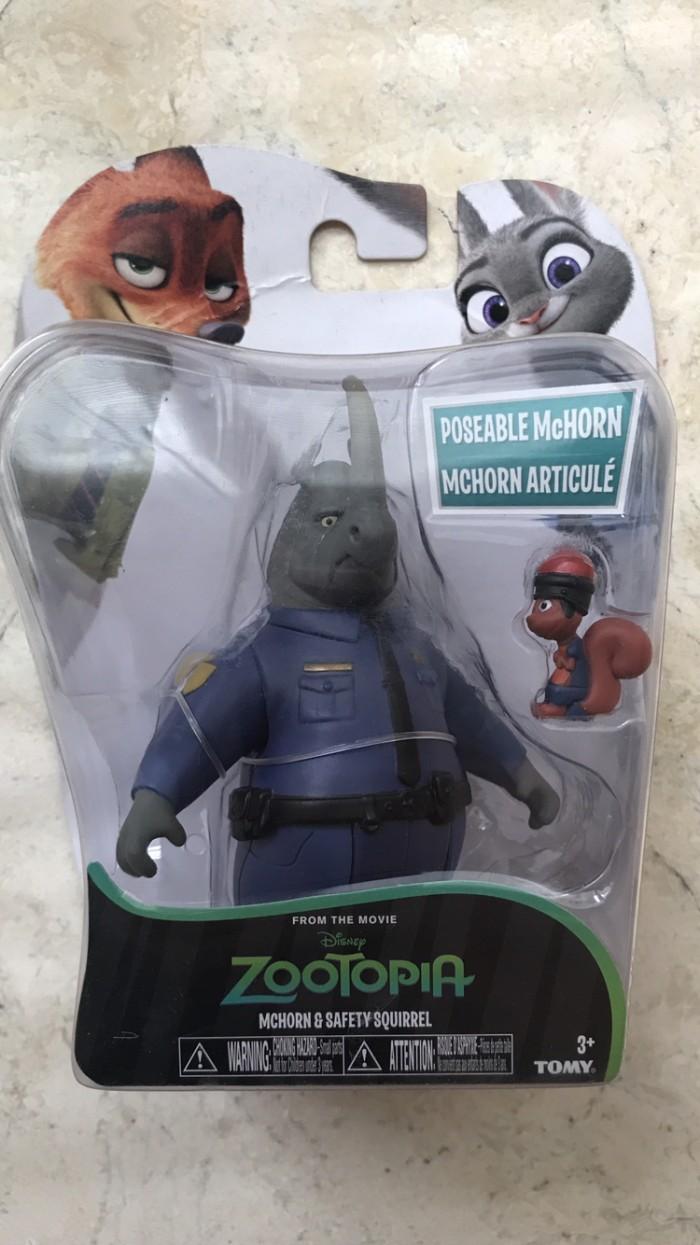 Jual Disney Zootopia McHorn And Safety Squirrel Takara Tomy Jakarta Pusat Rlsdn