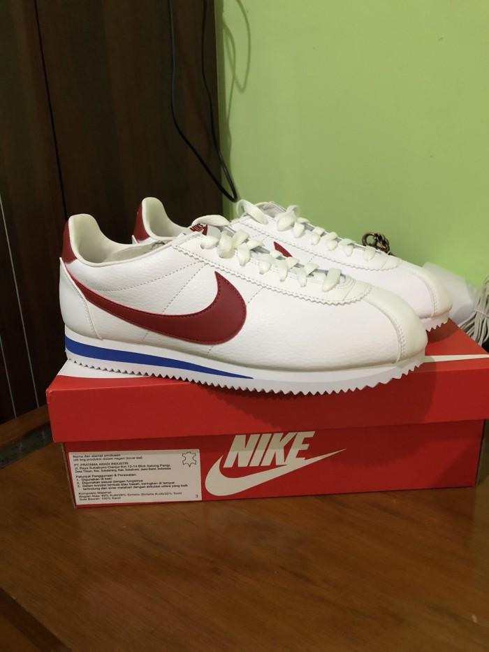 new concept 2324f 94155 Jual Sepatu Nike Classic Cortez Leather Shoes Pria Og Forrest Gump Original  - Jakarta Pusat - michaelpedia | Tokopedia