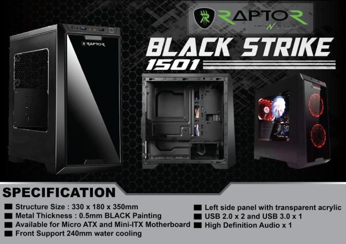 Foto Produk Casing Komputer Black Strike PowerUp dari aksesoriscompt