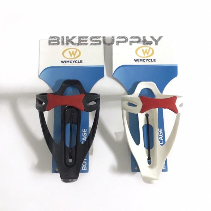 Foto Produk Tempat Botol Minum Sepeda (Bottle Cage) Wimcycle - Hitam dari Bike Supply