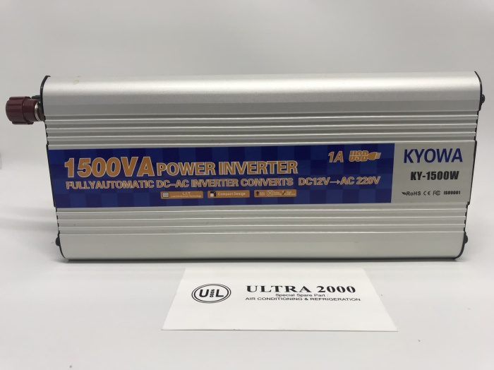 harga Power inverter 1500 watt power inverter dc to ac 1500 watt with usb 5v Tokopedia.com
