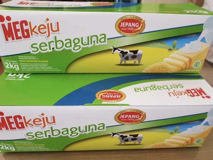 Foto Produk Keju Cheddar Meg Serbaguna 2kg dari ANUGERAH PANGAN JAYA
