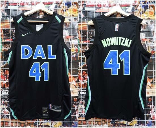 meet 42bc9 a87d4 Jual Jersey Basket Dallas Mavericks City Edition Hitam Dirk Nowitzki 17-18  - Kota Batam - RR7 Shop | Tokopedia