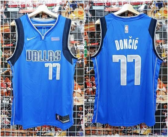 pretty nice 44edb 93958 Jual Jersey Basket Swingman Dallas Mavericks Luka Doncic #77 Biru 2018 -  Kota Batam - RR7 Shop | Tokopedia
