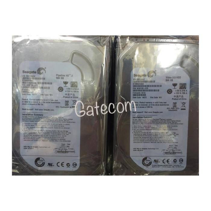 Foto Produk HARDDISK Seagate 500 GB Baru (PC) dari Gatecomp Technology