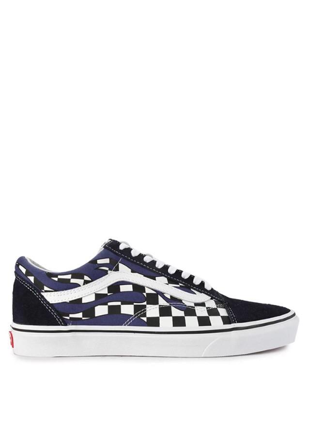 shoes Vans old skool checker flame