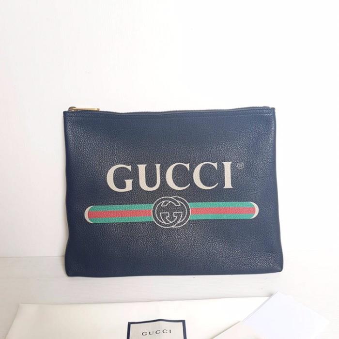 f215d006508 Jual Gucci pouch clutch wristlet authentic ori original ready - la ...