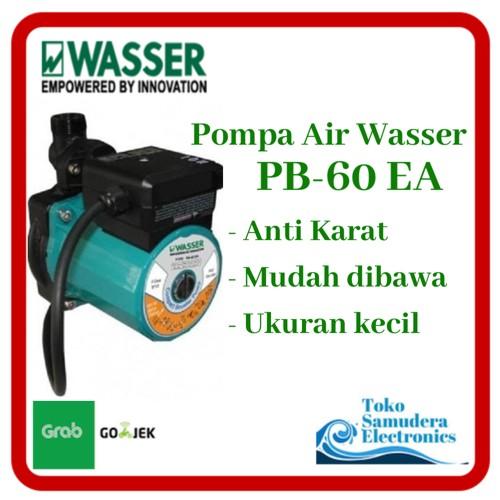 Foto Produk Mesin Pompa Air Dorong Wasser PB 60 EA (Booster Pump) dari Toko Samudera Electronic