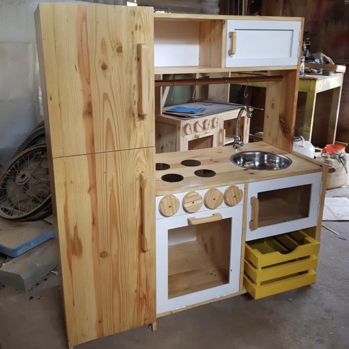 Jual Kitchen Set Kayu Anak Kota Depok Si Taso Tokopedia