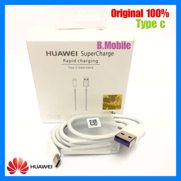 Foto Produk KABEL DATA USB TYPE C HUAWEI 5A SUPER CHARGE ORIGINAL dari B.MOBILE