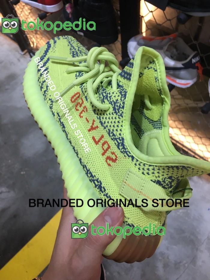Jual Sepatu Adidas Yeezy Boost 350 V2 Semi Frozen Yellow OriginalAuthentic DKI Jakarta Branded originals store   Tokopedia