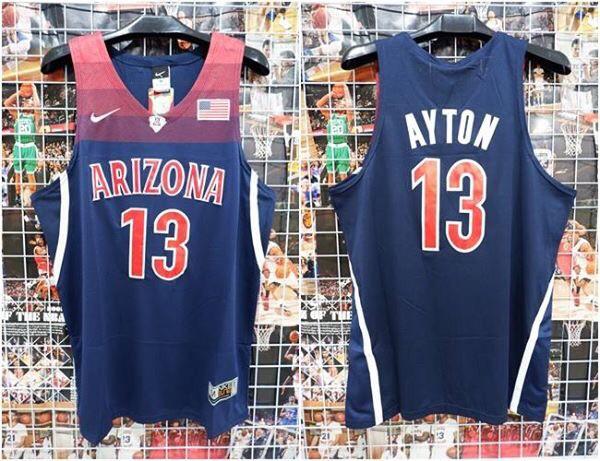 buy popular 9109a 46efb Jual Jersey Basket NCAA Arizona Navy Deandre Ayton - Kota Batam - RR7 Shop    Tokopedia