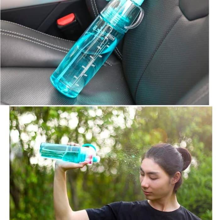 Botol Minum Sport Spray Water Bottle 500ml botol minum semprot