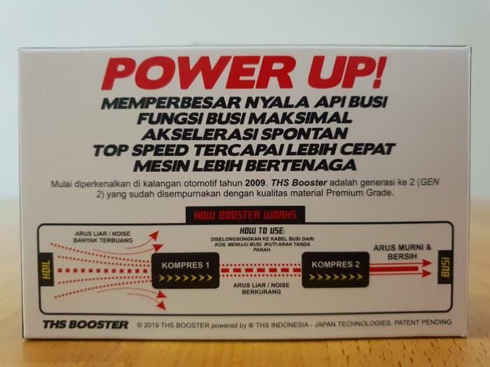 THS Booster Penambah Tenaga + Hemat BBM Mobil Motor not 9POWER