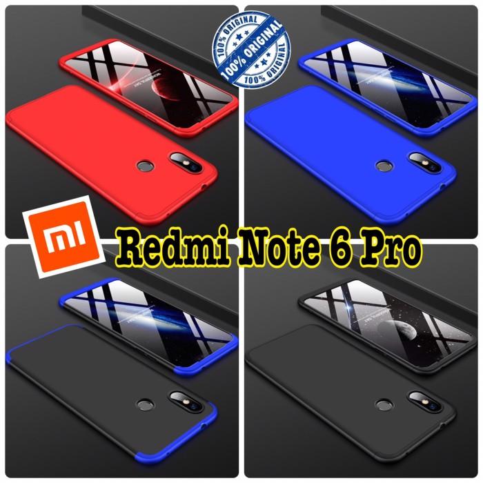 Foto Produk Redmi Note 6 Pro case 360 GKK - case xiaomi redminote 6 pro dari i-case