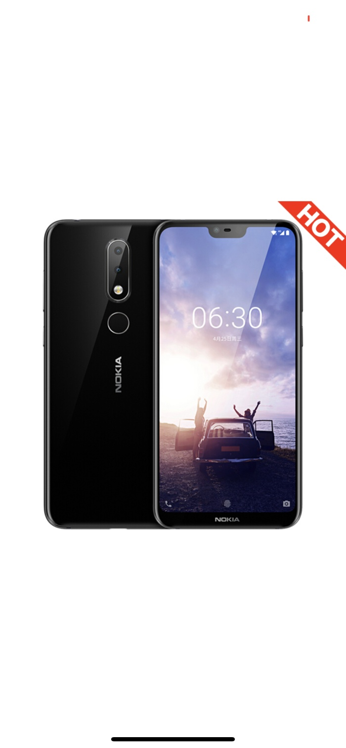 harga Nokia x6 / 6.1 plus 6/64 gb black rom global android one Tokopedia.com