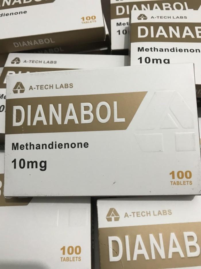 Jual A-TECH LABS DIANABOL 10mg 100tabs methandienone made in germany - Kota  Batam - rumahroid | Tokopedia