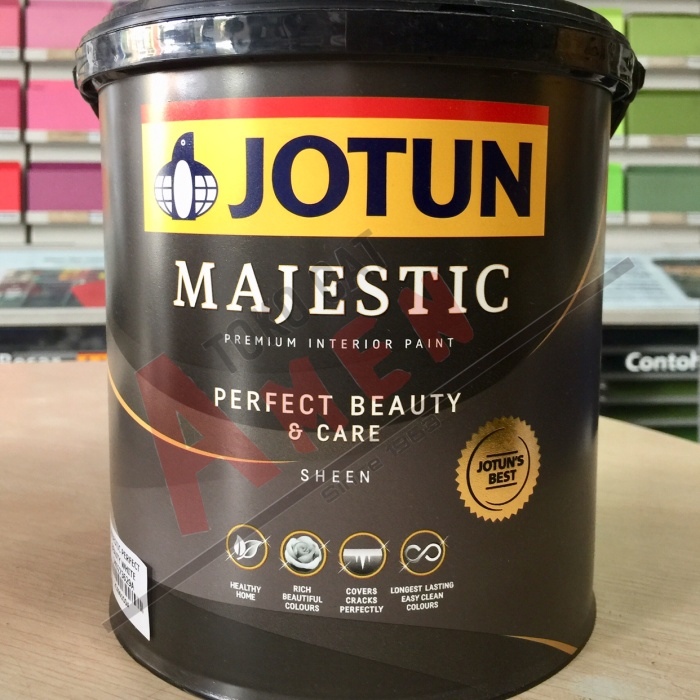 harga Jotun majestic perfect beauty & care 2.5lt - ral 7015 / cat tembok Tokopedia.com