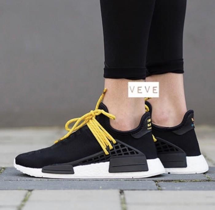 c1e07aa0e Jual Adidas Nmd Human Race Black Yellow Premium Original - veve ...