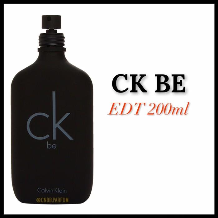Jual Parfum Ck Be Edt 200ml Original Reject No Box Dki Jakarta
