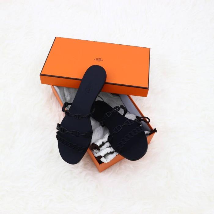 99f40d871981 Jual Hermes jelly rivage sandal black sz 38 (DP) - Kota Surabaya ...