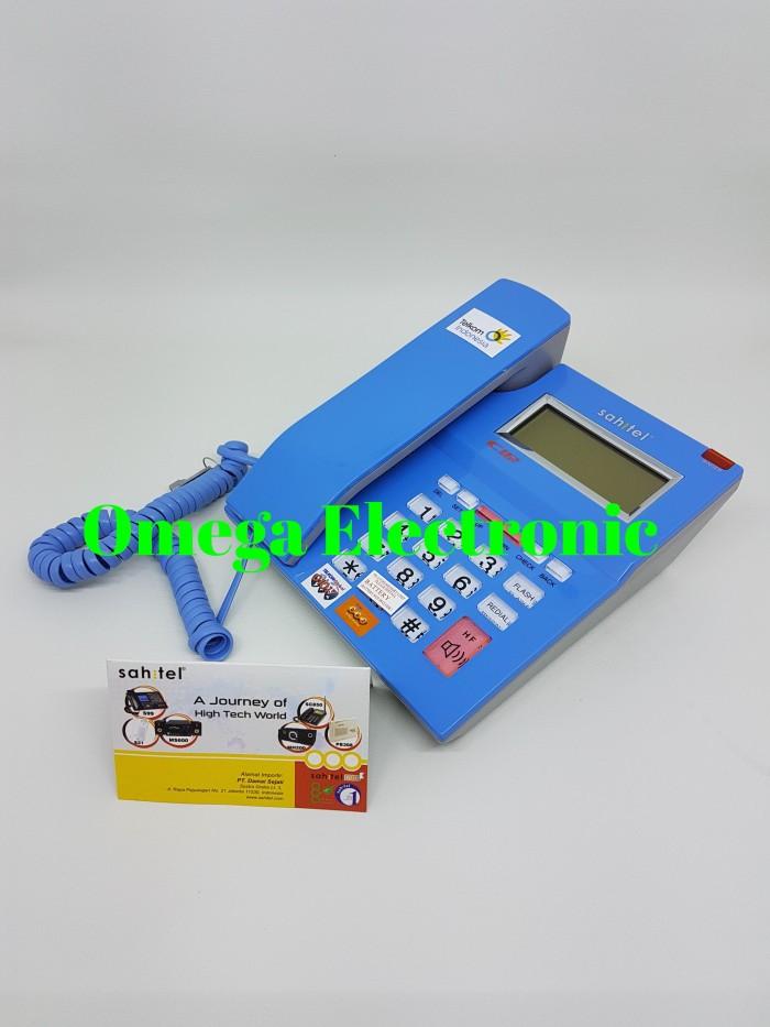harga Resmi sahitel s52 - pesawat telepon kantor rumah kabel single line Tokopedia.com