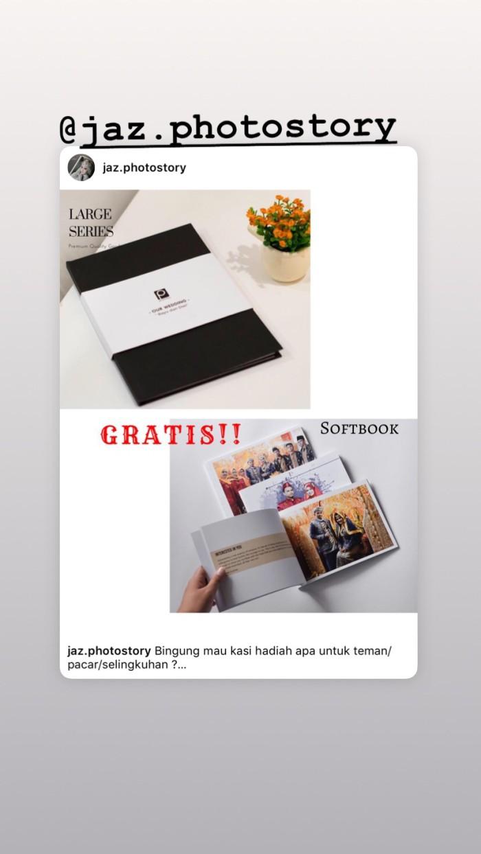Foto Produk Promo large series GRATIS 1 softbook dari jaz photobook