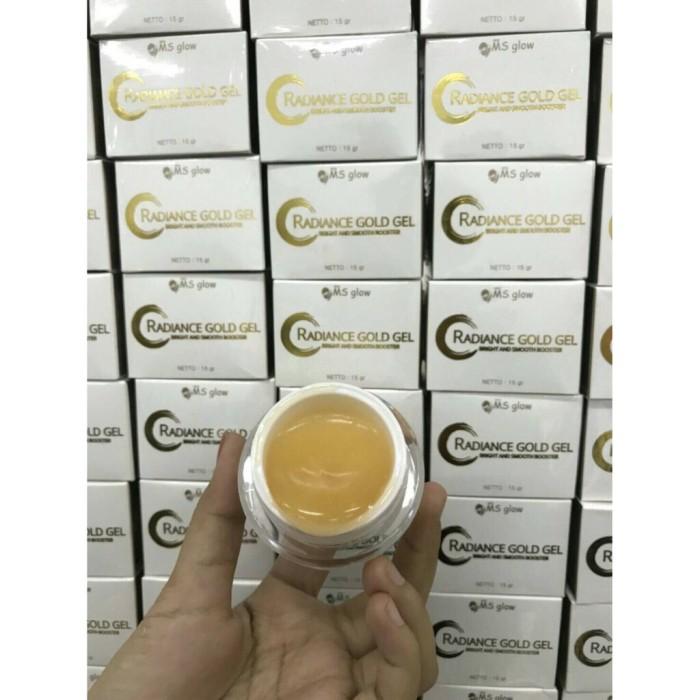 Foto Produk Radiance Gold Gel Ms Glow / Ms Glow Gold / Gold Jelly / Radiance Gold dari Songstress Beauty