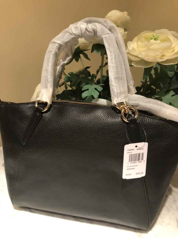 Foto Produk NWT Tas Coach Small Kelsey Black F28993 dari Nefo's Store