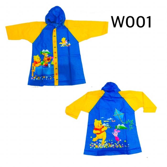 Jas hujan anak winnie the pooh w001