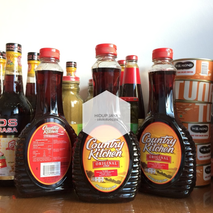 harga 12 x log cabin country kitchen syrup ( maple syrup ) Tokopedia.com