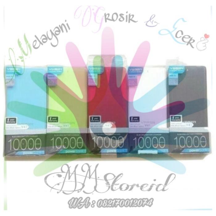 harga Power bank veger v41 10000mah original / powerbank veger slim 10000mah Tokopedia.com
