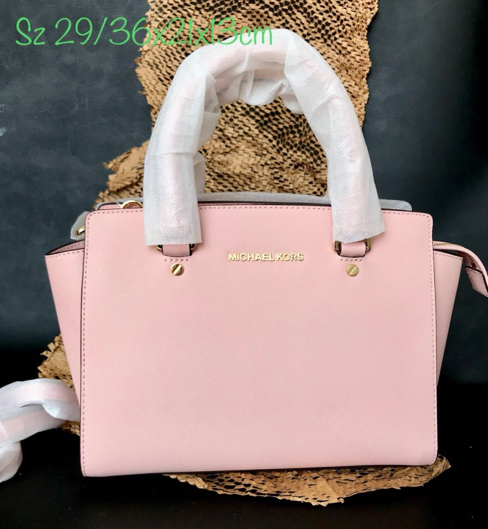 25bad3a9fd17 Jual MICHAEL KORS SELMA MEDIUM PINK TAS MK Original - Kota ...