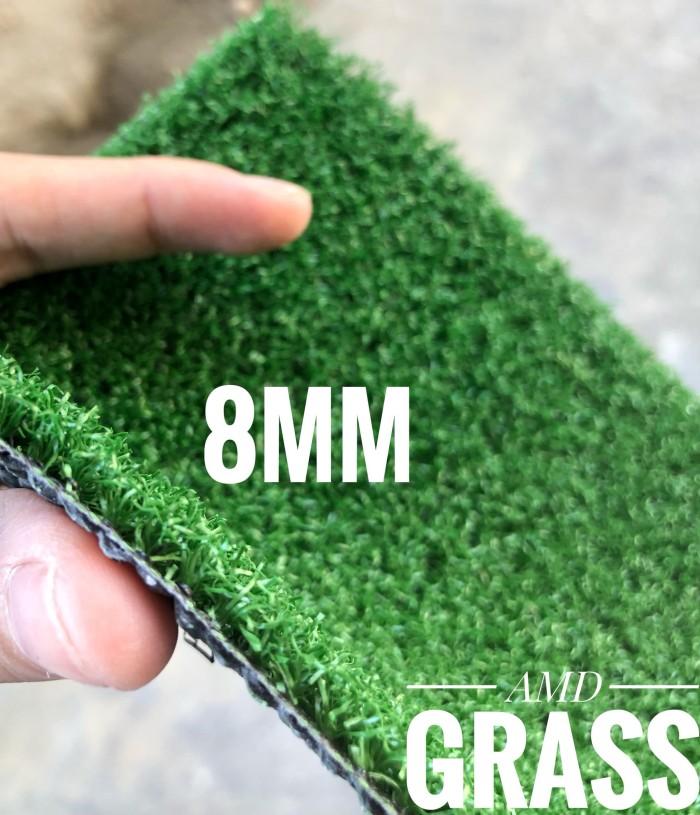 rumput sintetis/ palsu tinggi 8mm