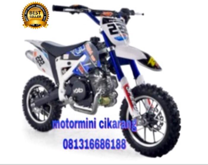 harga Motor mini trail kxd 50cc mesin 2tak special edition Tokopedia.com