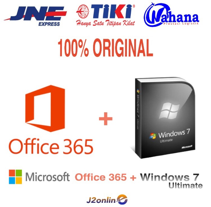 harga Lisensi paket windows 7 ultimate dan office 365 5 pc 1tb original Tokopedia.com