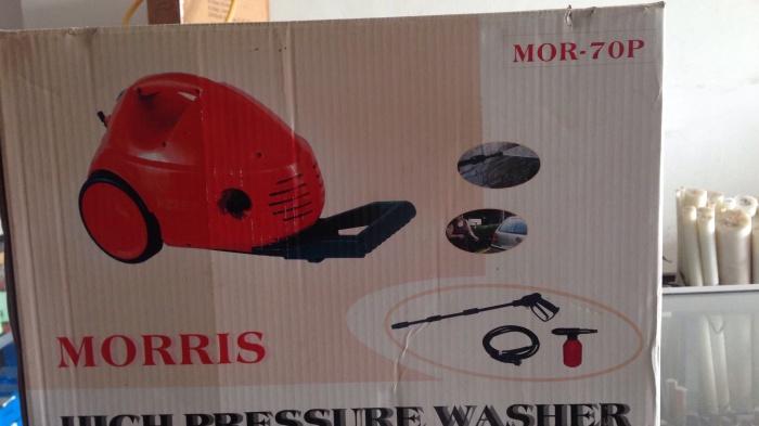 harga Mesin steam motor & mobil/high pressure cleaner morris mor-70 Tokopedia.com
