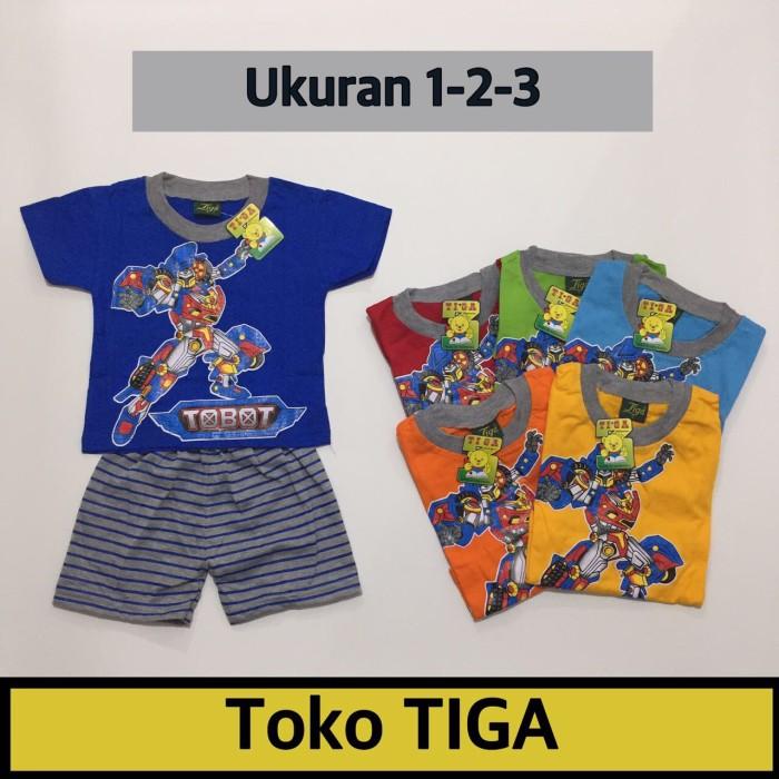 harga Baju anak laki laki kaos stelan tobot kado baju bayi Tokopedia.com