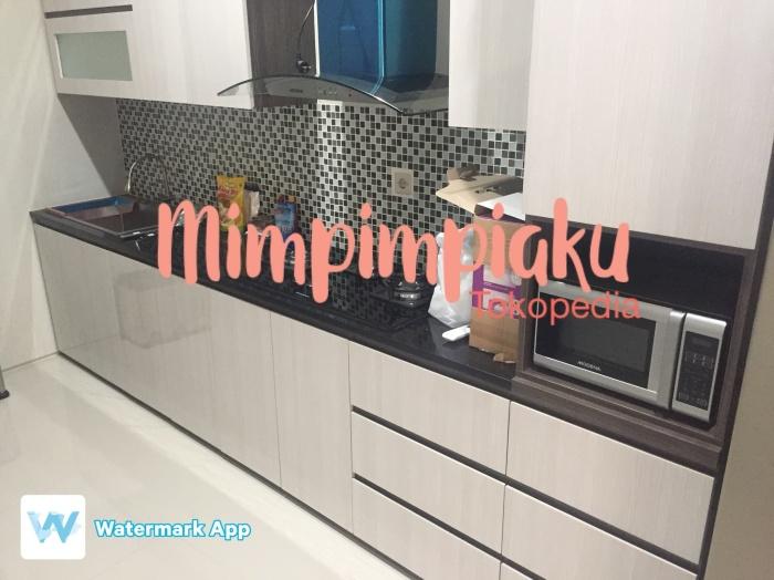 Jual Kitchen Set Kitchen Cabinet Kabinet Dapur Jakarta Timur Mimpimimpiaku Tokopedia