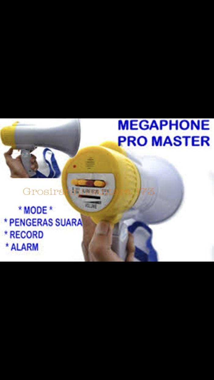 Jual Megaphone Pro Master Usa Cek Harga Di Pengeras Suara Toa Speaker Demo Alaram Sirine Recam Speake Tokopediacom