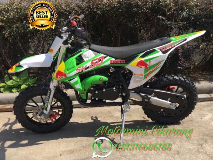 harga Motor mini trail mt4 50cc mesin 2tak Tokopedia.com