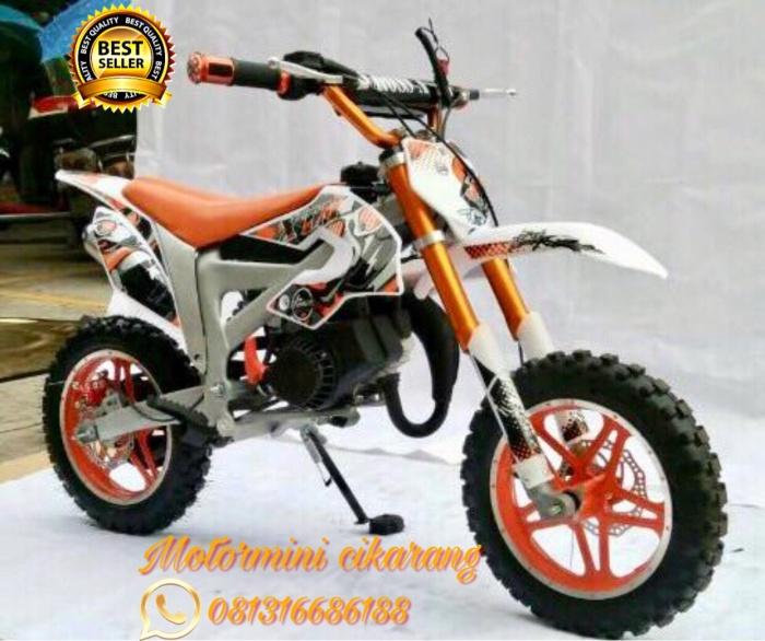 harga Motor mini trail mt3a new 50cc mesin 2tak Tokopedia.com